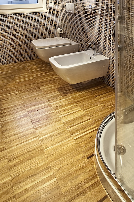 parquet industriale in rovere