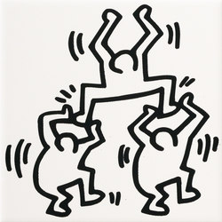 Ceramiche keith haring maro cristiani for Keith haring figure templates